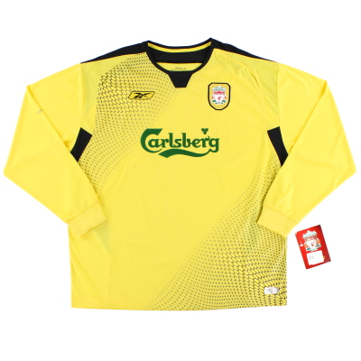 2004-06 Liverpool Away Shirt L/S *BNWT* XL