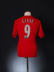 2004-06 Liverpool Home Shirt Cisse #9 S
