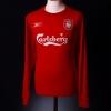 2004-06 Liverpool Home Shirt Gerrard #8 L/S M