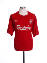 2004-06 Liverpool Home Shirt L.Boys