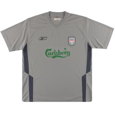 2004-06 Liverpool Reebok Training Top *Mint* XL