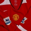2004-06 Manchester United Home Shirt Keane #16 L/S *Mint* L