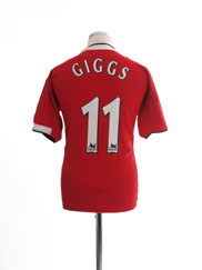 2004-06 Manchester United Home Shirt Giggs #11 M