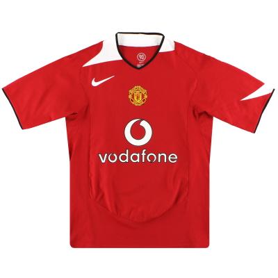 2004-06 Manchester United Nike Home Shirt XL
