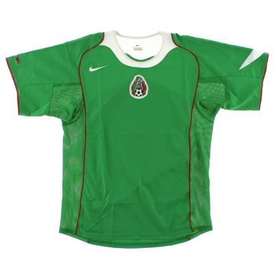 2004-06 Mexico Home Shirt S