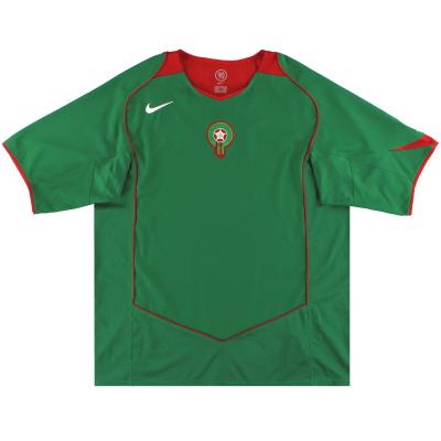 2004-06 Morocco Nike Home Shirt *Mint* XL