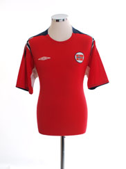 2004-06 Norway Home Shirt L