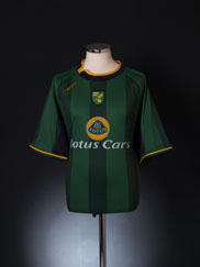 2004-06 Norwich City Away Shirt L