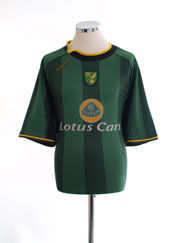 2004-06 Norwich City Away Shirt XL
