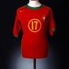 2004-06 Portugal Home Shirt C.Ronaldo #17 L