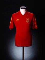 2004-06 Spain Home Shirt M