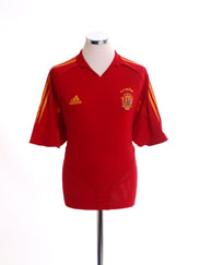 2004-06 Spain Home Shirt XL