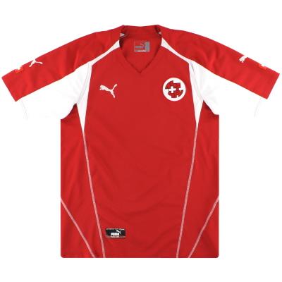 2004-06 Switzerland Puma Home Shirt S