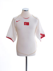 2004-06 Turkey Away Shirt L
