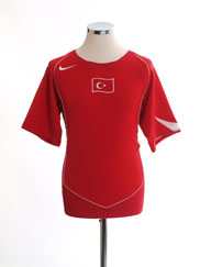 2004-06 Turkey Home Shirt M