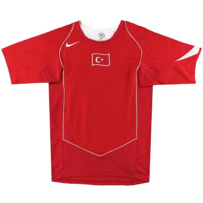 2004-06 Turkey Nike Home Shirt L