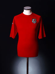 2004-06 Wales Home Shirt XL