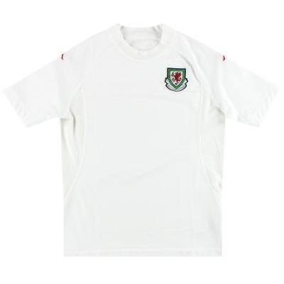 2004-06 Wales Kappa  Away Shirt XL.Boys