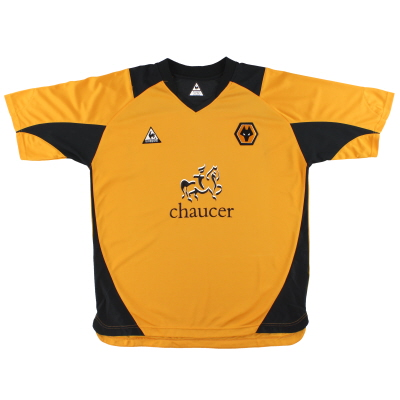 2004-06 Wolves Le Coq Sportif Home Shirt *Mint* XL