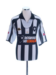 2004 Botafogo Centenary Home Shirt #7 XL