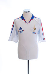 2004 France Away Shirt (vs. Switzerland) L