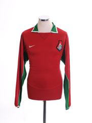 2004 Lokomotiv Moscow Player Issue Home Shirt L/S M