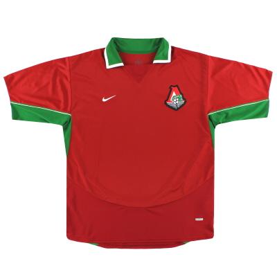 2004 Lokomotiv Moscow Nike Home Shirt *Mint* XL