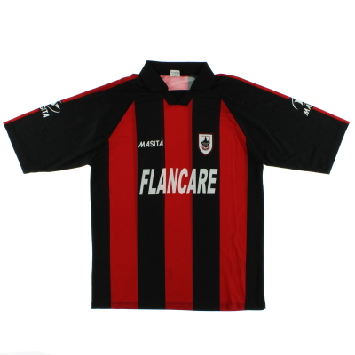 2004 Longford Town Home Shirt XL/XXL