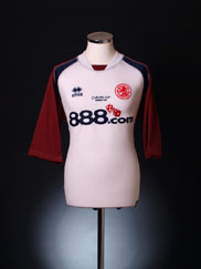 2004 Middlesbrough 'Carling Cup Winners 2004' Away Shirt S
