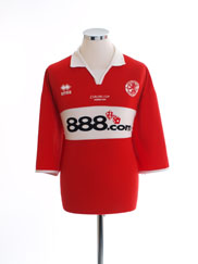 2004 Middlesbrough 'Carling Cup Winners 2004' Home Shirt XX