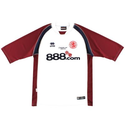 2004 Middlesbrough Errea 'Carling Cup Winners 2004' Away Shirt XXL