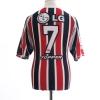 2004 Sao Paulo Away Shirt #7 XL