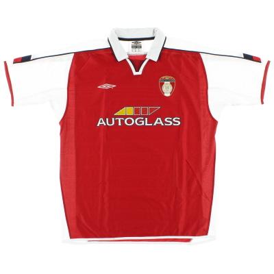 2004 St Patrick's Athletic Home Shirt XL