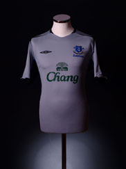 2005-05 Everton Away Shirt Woman's 12