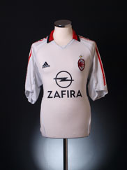 2005-06 AC Milan Away Shirt L