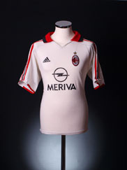 2005-06 AC Milan Away Shirt XL