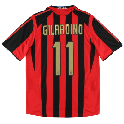 2005-06 AC Milan Home Shirt Gilardino #11 *Mint* M