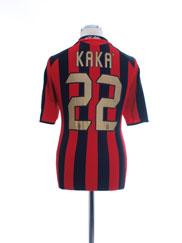 2005-06 AC Milan Home Shirt Kaka #22 S