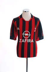 2005-06 AC Milan Home Shirt L