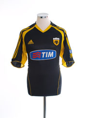 2005-06 AEK Athens Away Shirt S
