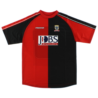 2005-06 Airdrieonians Away Shirt *Mint* L
