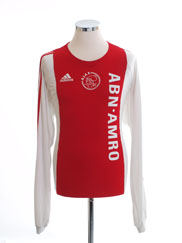 2005-06 Ajax Home Shirt L/S L
