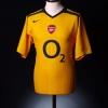 2005-06 Arsenal Reserves Match Issue Away Shirt #18 XL