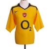 2005-06 Arsenal Away Shirt Henry #14 *Mint* XL