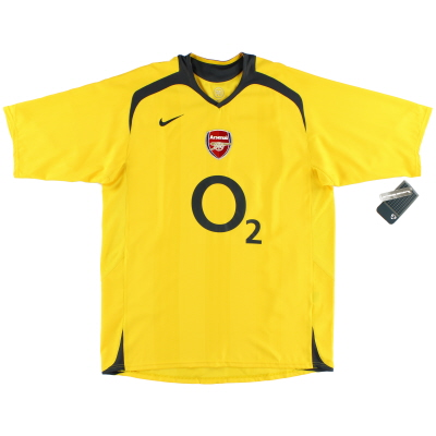 2005-06 Arsenal Away Shirt *w/tags* L