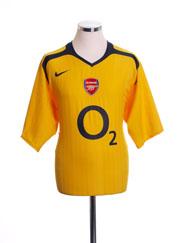 2005-06 Arsenal Away Shirt S