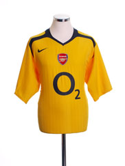 2005-06 Arsenal Away Shirt XXL