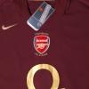 2005-06 Arsenal Commemorative Highbury Home Shirt Vieira #4 *BNWT* L