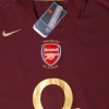 2005-06 Arsenal Highbury Home Shirt *BNWT* XXXL