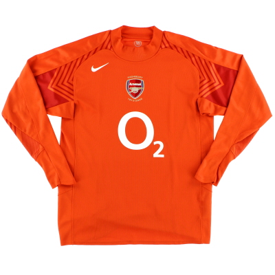 2005-06 Arsenal Goalkeeper Shirt L